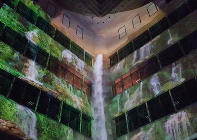 "Nacionalni park Krka_3D video mapping ""Voda i krš – fenomeni rijeke Krke"""